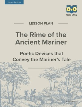 the rime of the ancient mariner teaching resources teachers pay   the rime of the ancient mariner poetry devices that convey the mariner s tale