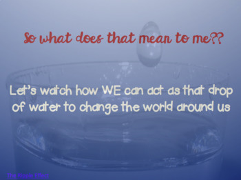 The Ripple Effect Kindness Lesson