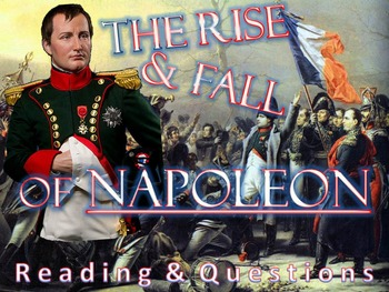 The Rise & Fall Napoleon Reading and Questions