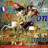 The Rise of Napoleon Bonaparte & the French Empire (4.6)