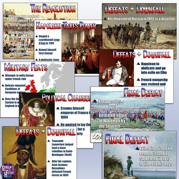The Rise & Fall of Napoleon Lesson Plan