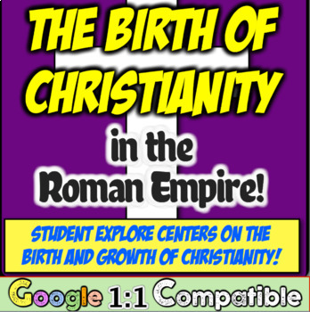 Christianity in Ancient Rome: The Rise and Spread!  A Student Exploration!
