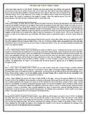 The Rise and Fall of Julius Caesar - Reading Comprehension Worksheet / Biography