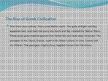 The Rise of Ancient Greece PowerPoint