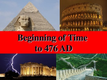 Unit 1 PowerPoint- The Rise of Civilization and Rome/ Greece