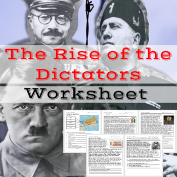The Rise of Dictators WWII