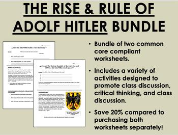 Nazi Germany Bundle - Global/World History Common Core
