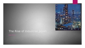 The Rise of Industrial Japan
