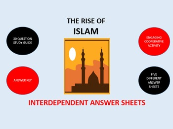 The Rise of Islam: Interdependent Answer Sheets Activity