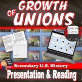 The Rise of Labor Unions in the U.S. - Industrial Revolution (Print and Digital)