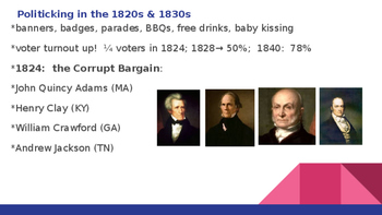 The Rise of Mass Democracy (1815-1840)
