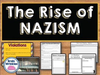 The Rise of Nazism and the Holocaust (SS6H7)