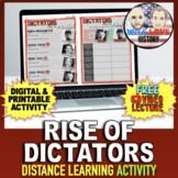 The Rise of the Dictators | World War II | Distance Learni