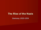 The Rise of the Nazi Party 1920-1934