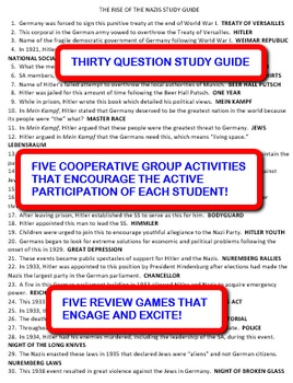 The Rise of the Nazis: Study Guide and Activity Pack