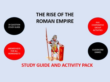 The Rise of the Roman Empire: Study Guide and Activity Pack