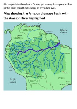 The River Amazon Handout