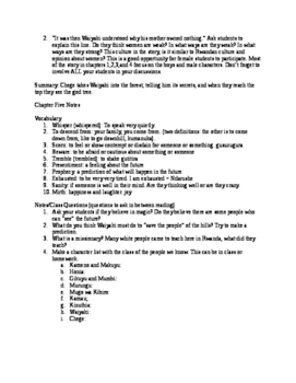 The River Between - Lesson Plans