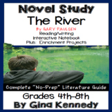 The River Novel Study & Project Menu