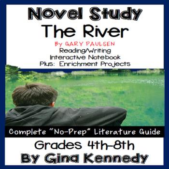The River Novel Study Gary Paulsen Worksheets TpT