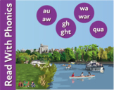 The River Trip: Reinforces The Phonic Sounds au and aw