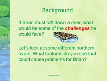 The River by Gary Paulsen PowerPoint Presentation