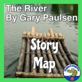 The River by Gary Paulsen Story Map