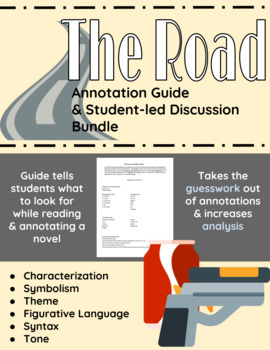 The Road Annotation Guide and Student-led Discussion Bundle