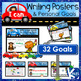 Writing Goals, Goal Cards, Reward Tags, Portfolio & Paragraph Writing: BUNDLE