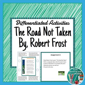 The Road Not Taken Differentiated Activities