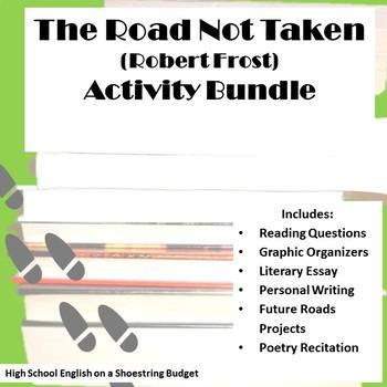 The Road Not Taken Activity Bundle  (Robert Frost) PDF