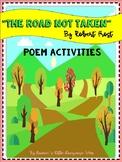 The Road Not Taken Poem Activities