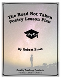 The Road Not Taken Poem by Robert Frost Lesson Plans, Worksheets
