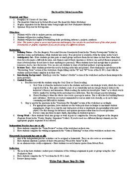 road not taken poem by robert frost lesson plans worksheets the road not taken poem by robert frost lesson plans worksheets