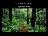 The Road Not Taken PowerPoint