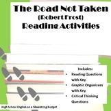 The Road Not Taken Reading Activities (Robert Frost)