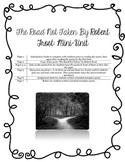 The Road Not Taken, Robert Frost Mini-Unit