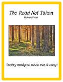 The Road Not Taken (Robert Frost) -- Poetry Analysis