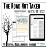 """Poetry Lesson: """"The Road Not Taken"""" by Robert Frost {Google Digital Resource}"""