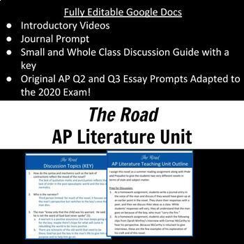Essay On Health Promotion The Road  Ap Literature Discussion Guide And Essay Prompts Essay Writing Examples English also Thesis Argumentative Essay The Road  Ap Literature Discussion Guide And Essay Prompts  Tpt How To Write A Proposal Essay Paper