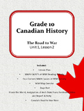 The Road To War: Understanding Canada's Journey to WWI