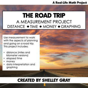 The Road Trip: A Measurement Math Project | Real-Life Math Project