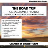 The Road Trip: A Measurement Math Project   Real-Life Math   Distance Learning