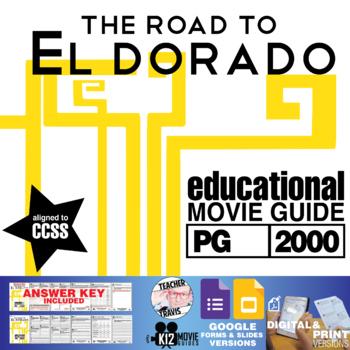 The Road to El Dorado Movie Guide | Questions | Worksheet (PG - 2000)