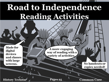 The Road to Independence Reading Activities