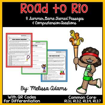 Summer Games Passages & Comprehension