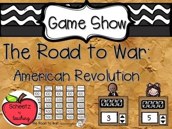 The Road to War: American Revolution Game Show (Powerpoint)