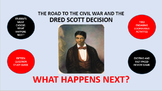 The Road to the Civil War and the Dred Scott Decision:  What Happens Next?