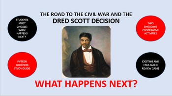 The Road to the Civil War and the Dred Scott Decision:  Wh