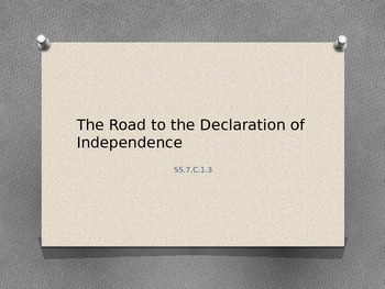 The Road to the Declaration